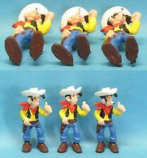 3 Varianten von Lucky Luke mit  Zigarette BULLY 1974 TOPZUSTAND