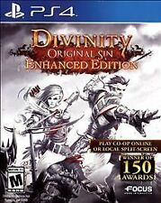 Playstation 4 Divinity Original Sin Enhanced Edition New