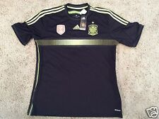 Barcelona Spain Barca Adidas Soccer black World Cup Football Jersey XL mens NEW
