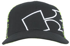 Kawasaki Flex Fit Cap Headwear Hat Racing Motorcycle Extreme Sport Lid Black Adj