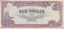 USA / Japan Foreign Trade Payment Certificate $1 1946 WW II Circulated Banknote