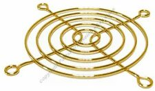 """80mm/3""""inch/8cm Metal Wire Box/Case Fan Grill/Finger Guard/Cover $SH DISC {GOLD"""