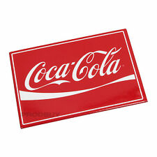 Official Coca Cola Coke Novelty Retro Fridge Magnet Red & White 9cm x 6.5cm Gift