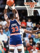 1991 PATRICK EWING New York Knicks BASKETBALL ACTION Glossy Photo 8x10 PICTURE