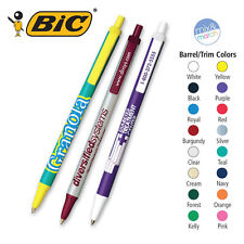 BIC CLIC STIC BALL PENS - 300 quantity - Custom Printed with Your Logo