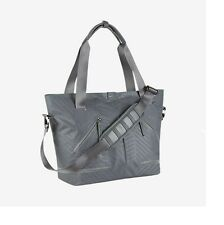 NEW Nike BA4827-011 Formflux GRAY Zip Top Tote Gym Bag Carry All