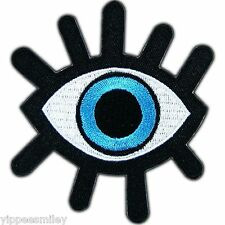 Eye Ball Devil Evil Monster Zombie Wicca Occult Biker Tattoo Iron On Patch #0343