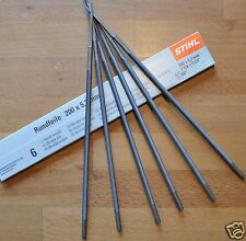 Genuine Stihl MS460 MS660 ms661 046 066 MOTOSEGA affilatura file 5.2 mm tracciate