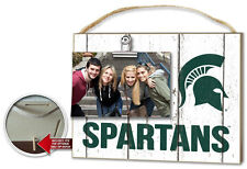 Michigan State Spartans Clip It Weathered Logo Photo Frame [NEW] NCAA Picture