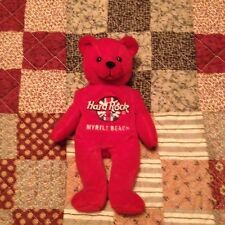 Hard Rock Cafe Collectible Myrtle Beach Rita Beara Teddy Bear