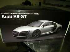 1:18 Kyosho Audi R8 GT Ice silver/silber Nr. 09218IS OVP
