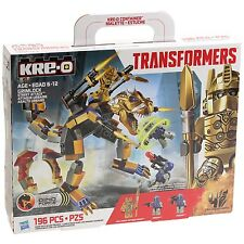Kre-o Transformers Grimlock Street Attack Toy Action Figure 196 Pieces Play Set