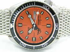 SEIKO 6309 SUBMARINER DIVERS WATCH BEZEL FOR PLANET OCEAN SHARK MESH BOXED