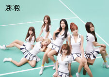 AOA - A3 Laminated Poster - Korean pop - k pop - Heart Attack- Like a cat -
