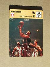 FICHE CHAMPION BASKETBALL NBA WILT CHAMBERLAIN PHILADELPHIA WARRIORS  USA 1978