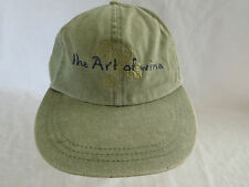 The Art of Wine Baseball Cap Dad Hat Strapback Rodney Strong Vineyards