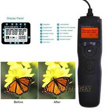 LCD Timer Remote Control for Canon EOS 7D 6D 5D 5DII 5DIII 50D 40D 1D 1DX Camera