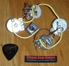 Gibson Firebird HP CTS Pot Control Assemble SG Potentiometer Set Guitar Parts T