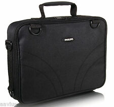 """Philips 7""""- 9"""" Portable DVD Player Padded Bag Case with Car-Mount Shoulder Strap"""