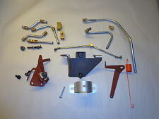 70-74 Mopar B E Body Cuda 440 Six Pack Installation Kit w/Choke & Throttle Cable