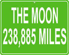 The Moon in outerspace  - distance to your house