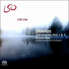 Sibelius: Symphonies Nos. 1 & 4 Super Audio Hybrid CD (CD, Nov-2008, LSO)