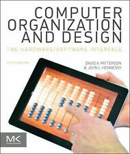 Computer Organization and Design : The Hardware/Software Interface by David...