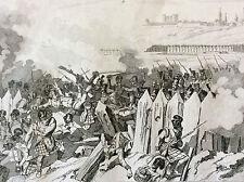 Napoléon Bonaparte Empire bataille napoléonienne défense Fort de Burgos XIX 1837