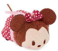 Disney Minnie Mouse Valentines Tsum Tsum Mini 3 1/2 New With Tag