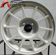 16x7 Rota Wheels R-Spec 4x100 White +45mm Rims (Set of 4 Rims)
