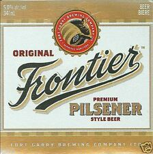 CANADA - Fort Garry Brew.Co,Winnipeg - Frontier Pilsener - beer label C1301