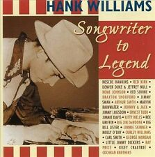 Various, Tribute To Hank Williams - Songwriter To Legend, Excellent Import
