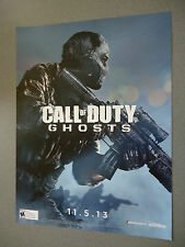 Call of Duty Ghosts Poster      COD   NEW
