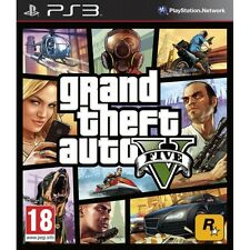 Grand Theft Auto GTA V (Five 5) Game PS3 Brand New