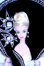 DIAMOND DAZZLE 1996 Barbie BOB MACKIE Designer NEW MINT JEWEL ESSENCE COLLECTION