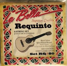 Requinto 6-String Set. RQ 80. Cuerdas para Requinto