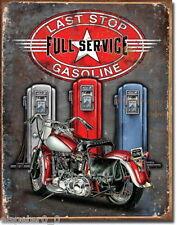 Blechschild 31 x 40, Legends - Last Stop, USA Werbeschild Art. #1566