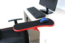 Red Home Office Computer Arm Rest  Chair Desk Armrest Mouse Pad Support 450mm