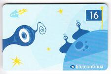 EUROPE  TELECARTE / PHONECARD .. ITALIE 20.000L BLU.CONTINUA ART BD 12/2002