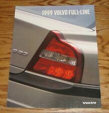Original 1999 Volvo Full Line Sales Brochure 99 S80 S70 V70 C70