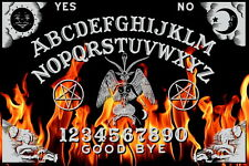 Ouija Board - Fire Design from OccultBoards.com & Planchette (Free Shipping)