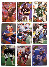 1994 Action Packed & All Madden Team Raised Player NFL Football Card Lot of 9