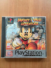 Mickey's Wild Adventure platinium  (PS1)  PS2  PS 3   In Box, mit Anleitung