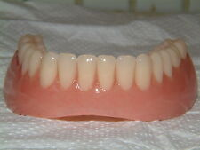 FULL LOWER DENTURE/FALSE TEETH,BRAND NEW FOR JOKES,NOVELTY GIFTS