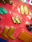 Vtg Barbie KEN 80s Doll Clothes Accessory Shoe Lot Finishing Touches 1984