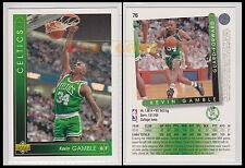 NBA UPPER DECK 1993/94 - Kevin Gamble # 76 - Celtics - Ita/Eng - MINT