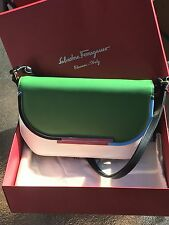 Salvatore Ferragamo Medium Ornament Signature Shoulder Bag