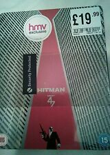 Hitman agent 47 blu ray Steelbook new and sealed HMV Exclusive rare