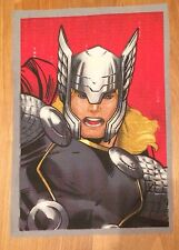 Marvel Comics Super Hero  Avengers Thor Material /Fabric Remnant.