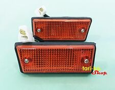 Side Marker Turn Signal Lights Lamp For 1984-1995 Mitsubishi Champ Sedan LH RH